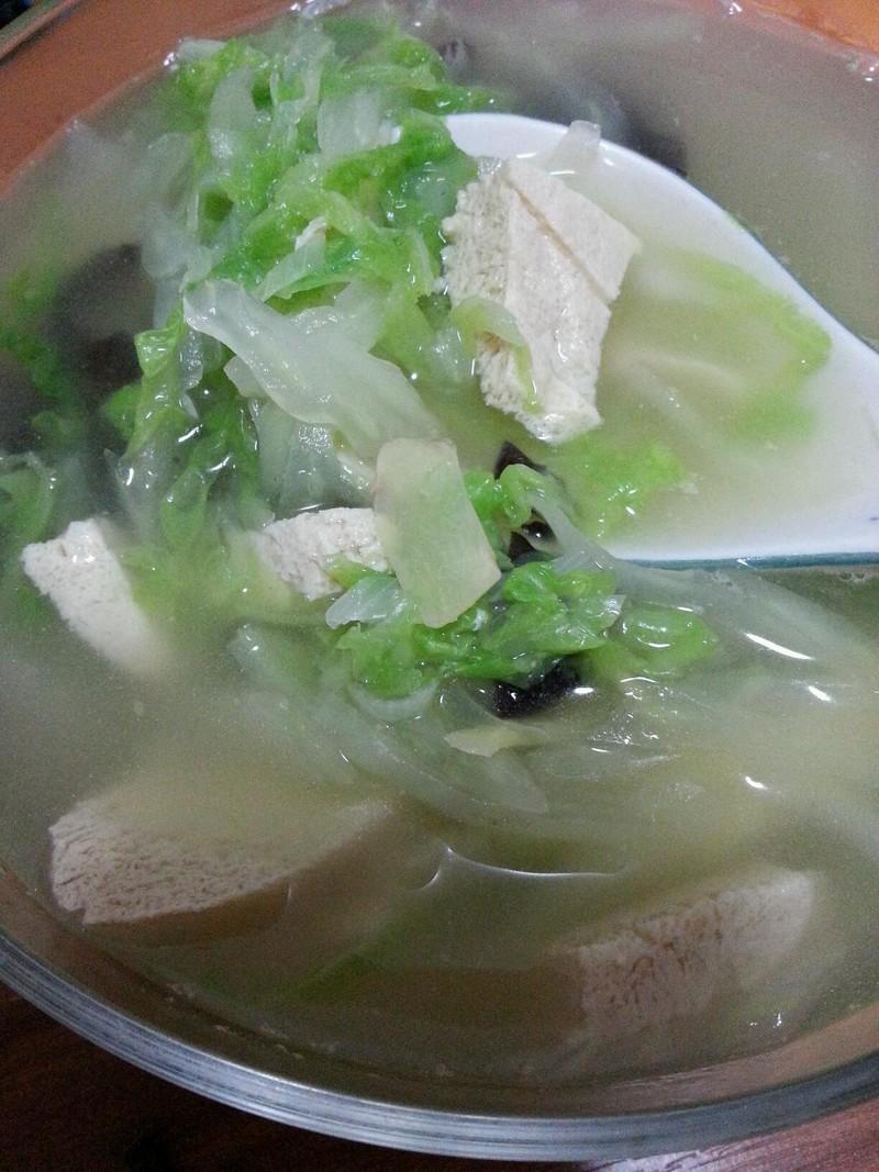 冬季v做法做法冻豆腐汤的白菜步骤作文菜谱英语份一图片