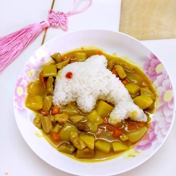 宝宝爱吃的咖喱饭的做法_【图解】宝宝爱吃的咖喱饭做