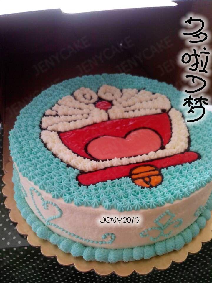 多啦a梦生日蛋糕