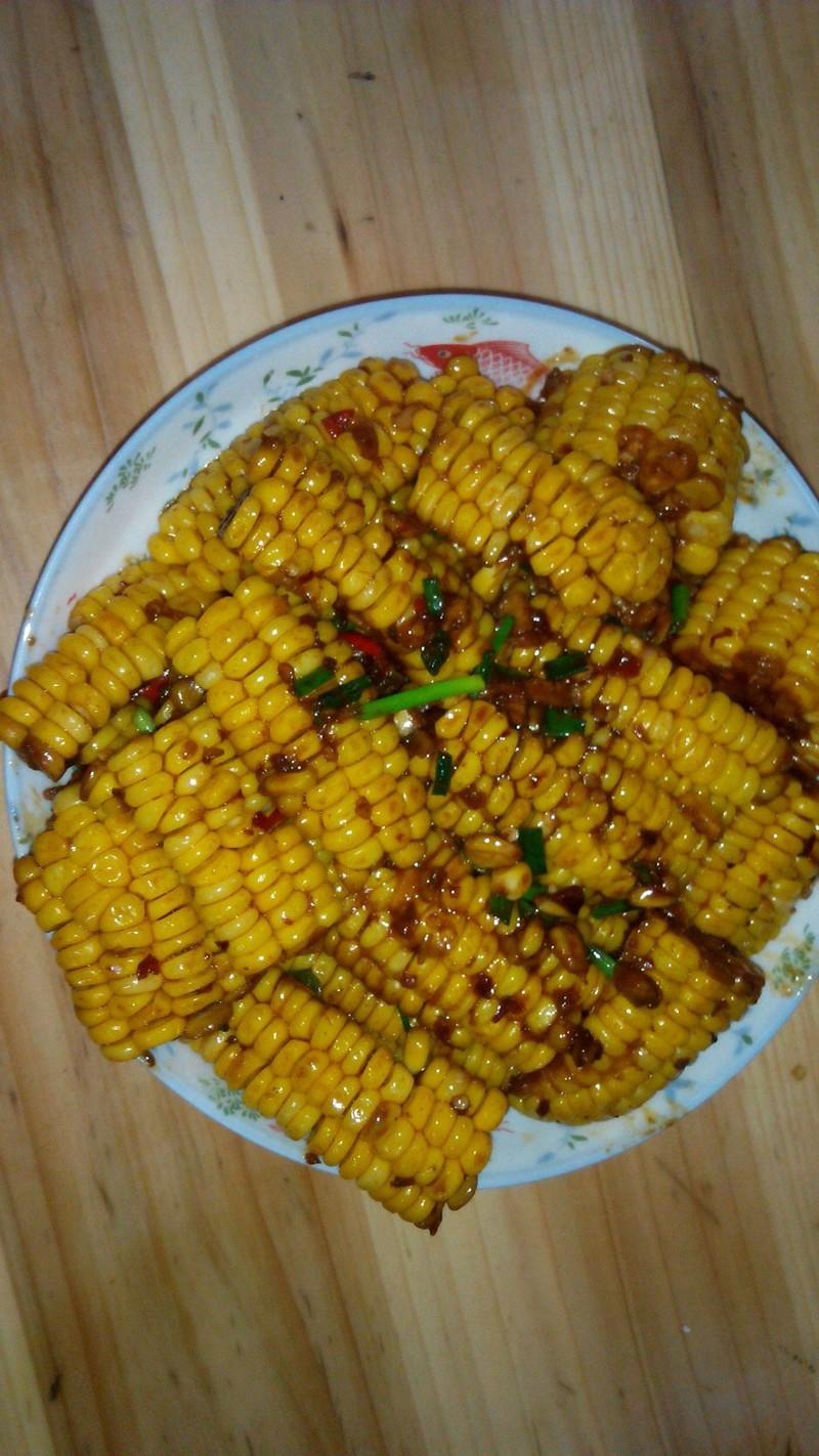 好吃的香辣玉米烧的做法_【图解】好吃的香辣玉米烧做