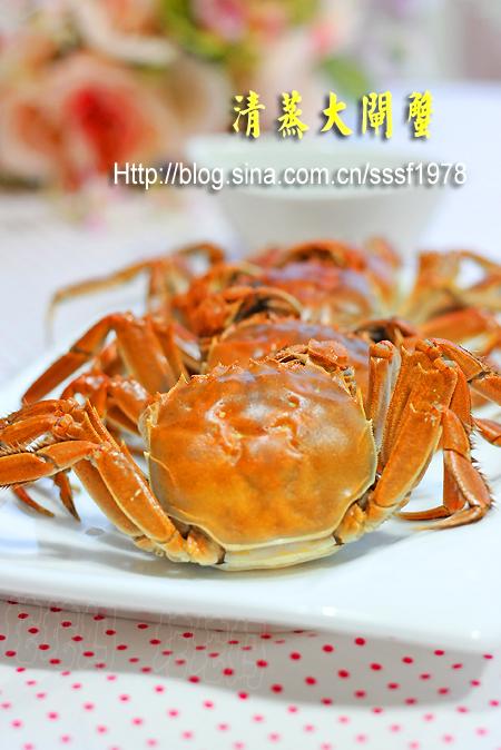 清蒸大闸蟹的做法_【图解】清蒸大闸蟹怎么做好吃_坨