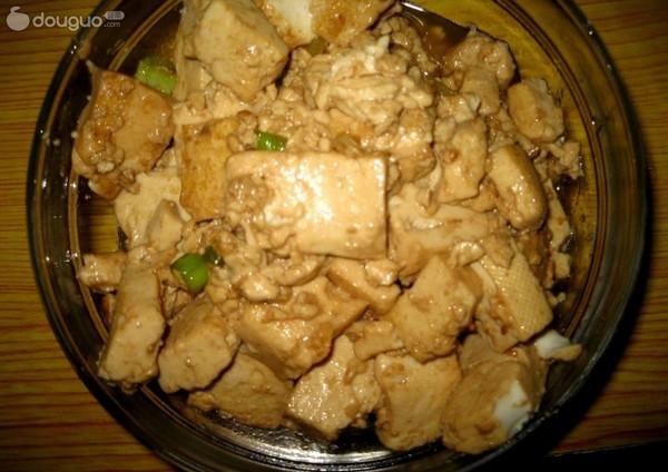 葱香酱烧豆腐的做法_【图解】葱香酱烧豆腐怎么做好吃