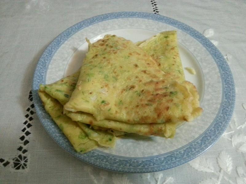 白菜玉米面鸡蛋饼的做法_【图解】白菜玉米面鸡蛋饼做