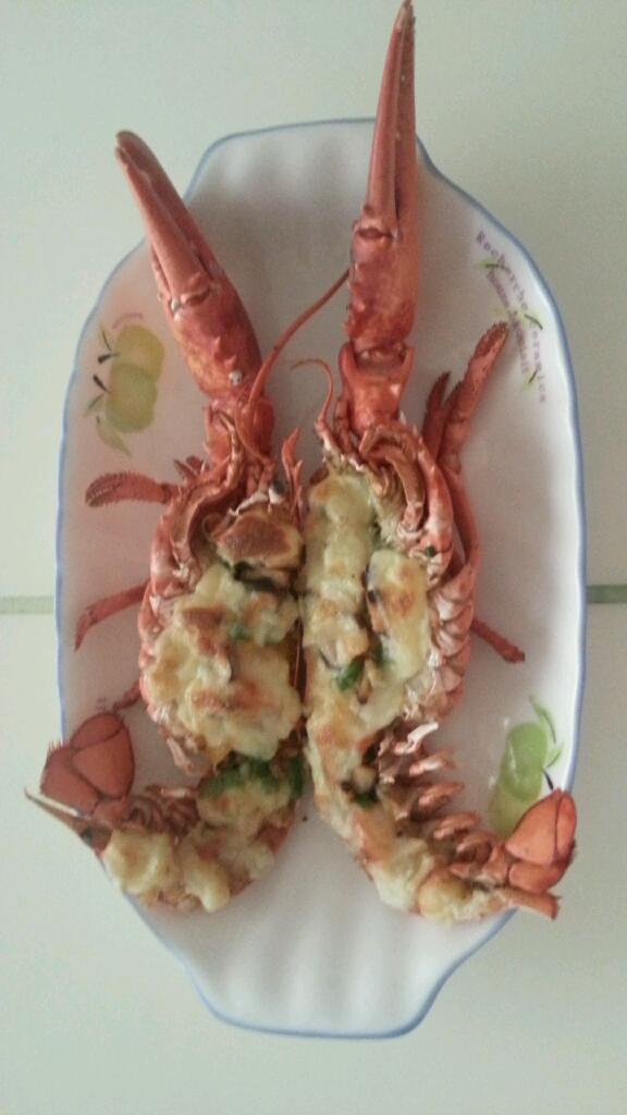焗烤龙虾的做法_【图解】焗烤龙虾怎么做好吃_暖暖晴