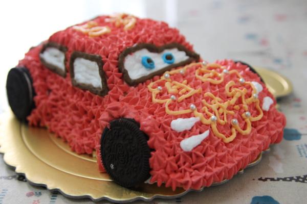 可爱的 生日蛋糕/可爱的小汽车生日蛋糕儿