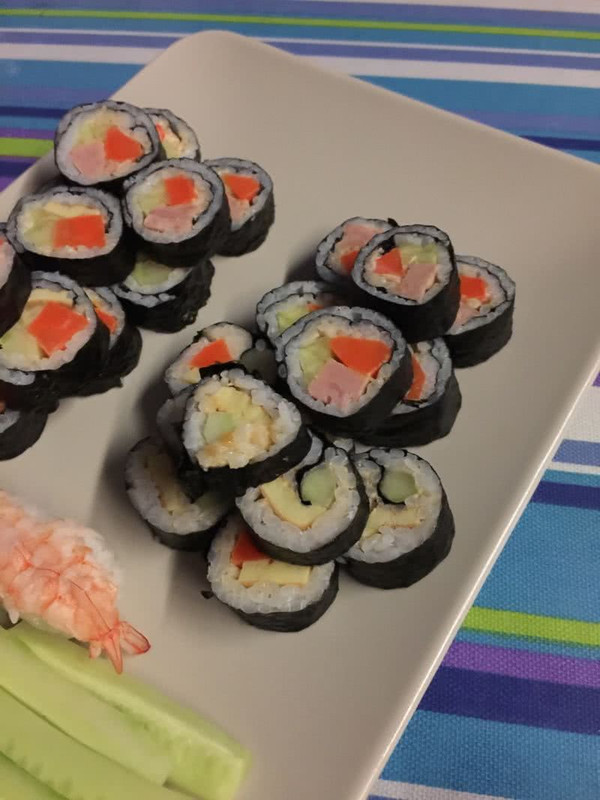 包寿司的方法步骤图片