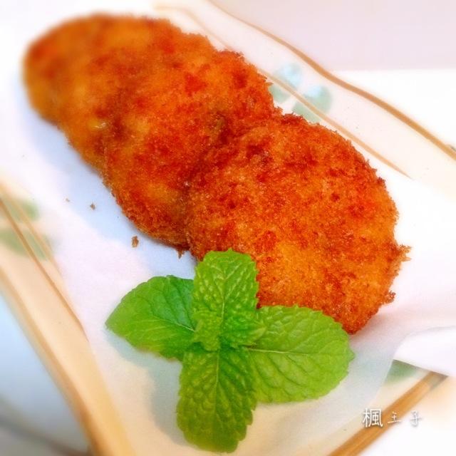 日式鲜虾土豆可乐饼