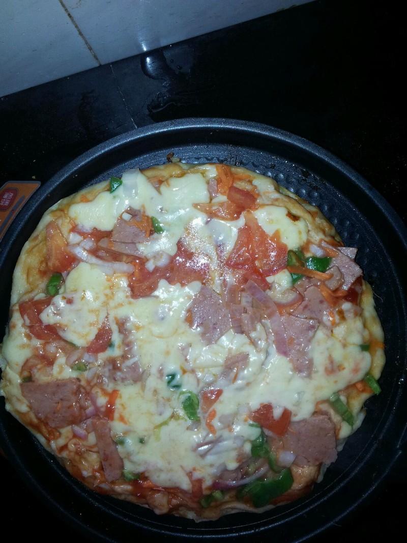 电饼铛披萨的做法步骤