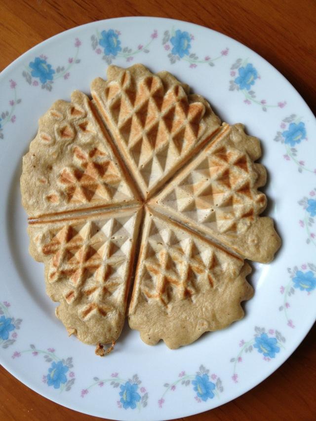 燕麦华夫饼的做法步骤