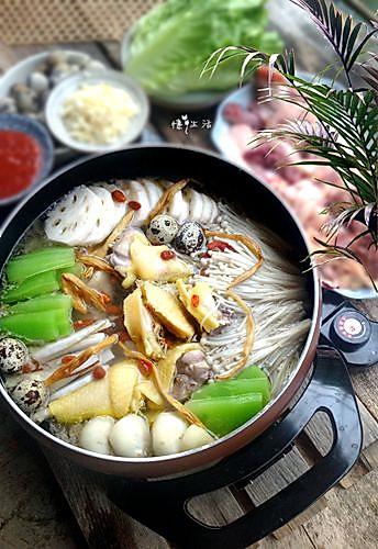 滋补养生椰子鸡煲---利仁电火锅试用菜谱2的做法