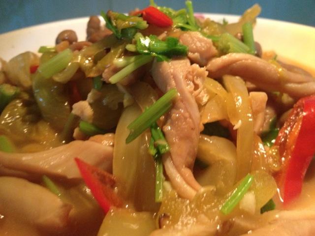 小炒猪肚丝的做法_【图解】小炒猪肚丝怎么做好吃_上