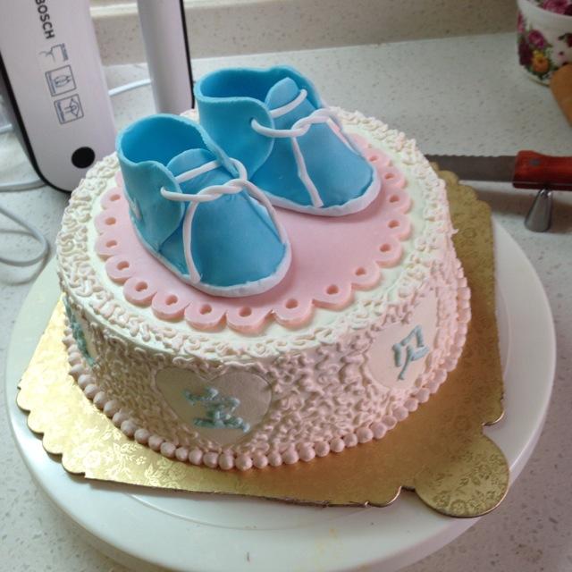 翻糖耐克婴儿鞋详细做法,超啰嗦.