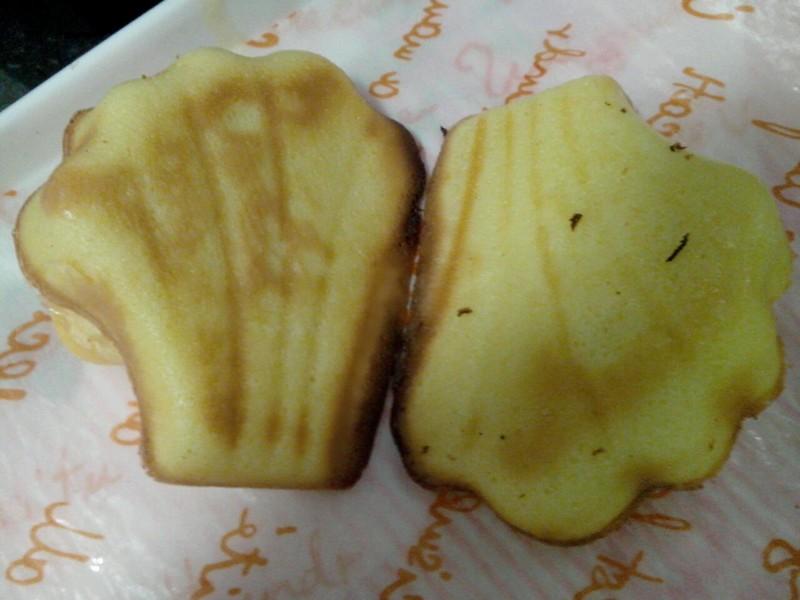 贝壳面包的步骤