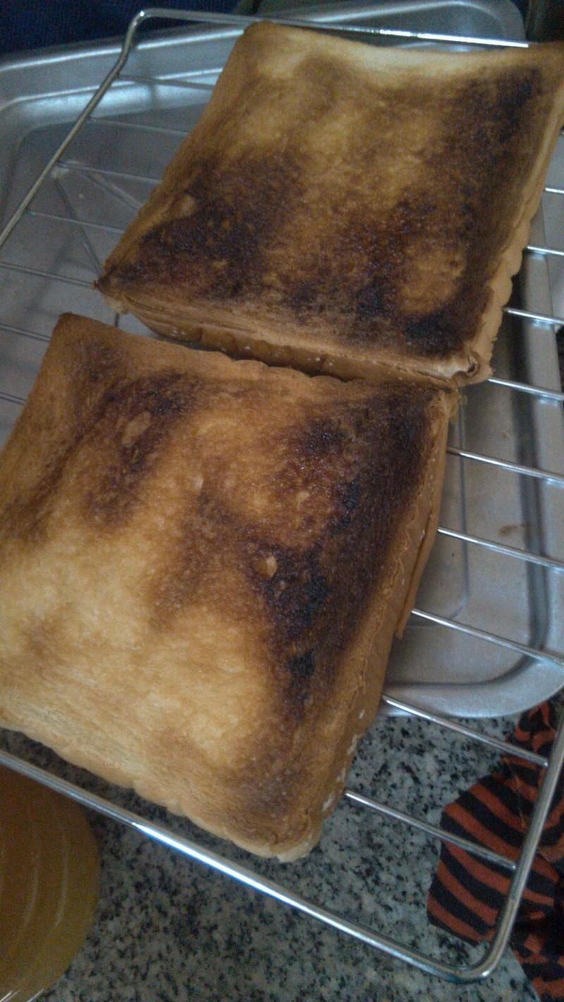 蜂蜜烤方包的做法_【图解】蜂蜜烤方包怎么做好吃