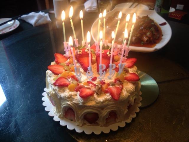 生日蛋糕 鲜奶水果的做法