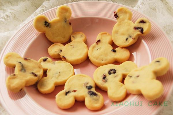 可爱造型饼干的做法