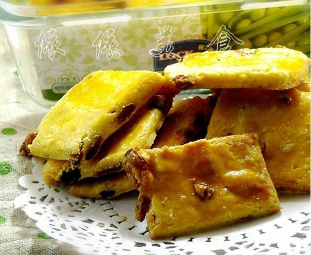 圖片標題: 葡萄奶酥餅幹的做法