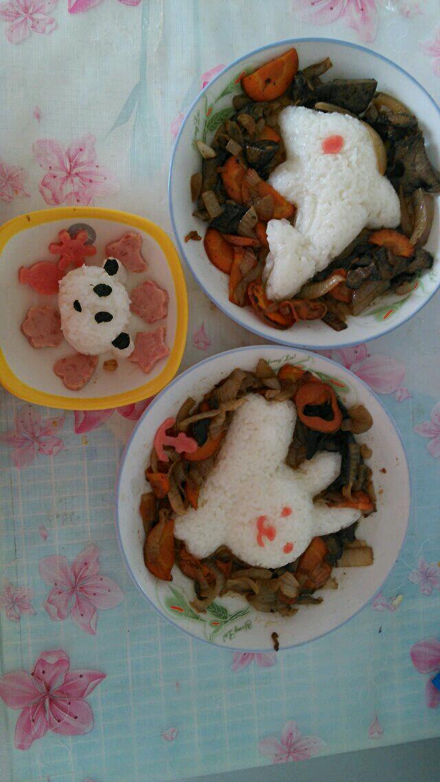 儿童餐的做法