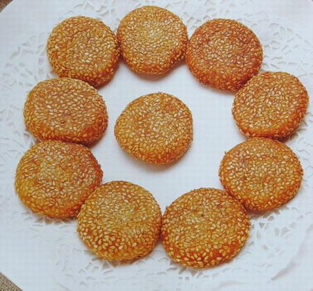 香煎南瓜饼的做法_【图解】香煎南瓜饼怎么做好吃-南瓜饼的做法 南瓜