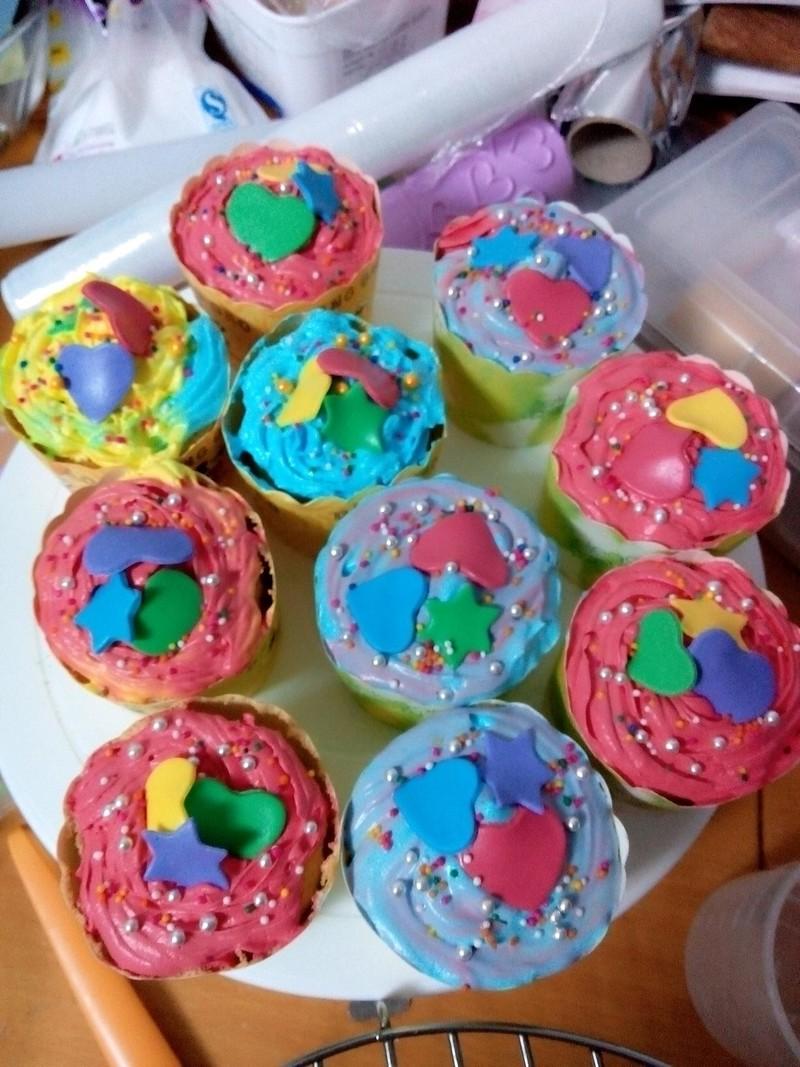 纸杯蛋糕的做法_【图解】纸杯蛋糕怎么做好吃_love2