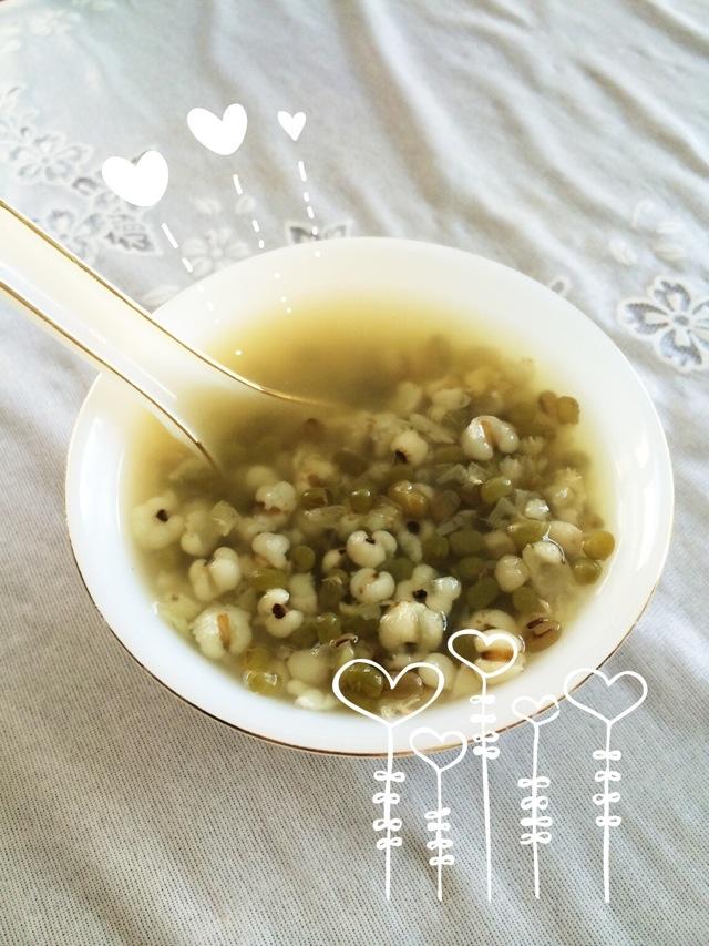 快速版绿豆薏米汤