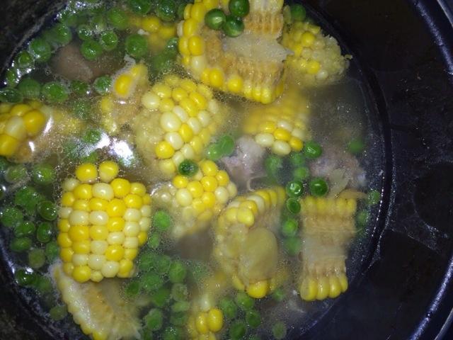 葱油黄花鱼 韩国海带汤