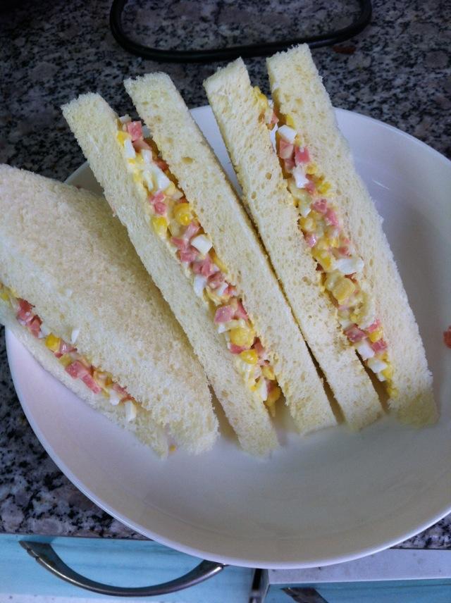 速成三明治的做法_【图解】速成三明治怎么做好吃_吃