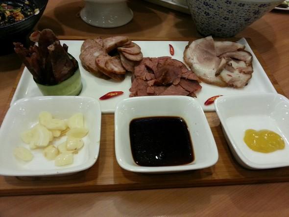 松仁咸蛋黄饺子的制作步骤