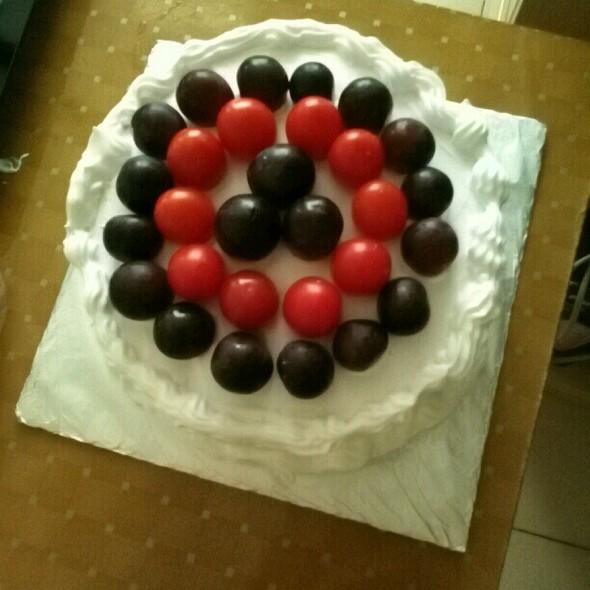 自制水果蛋糕