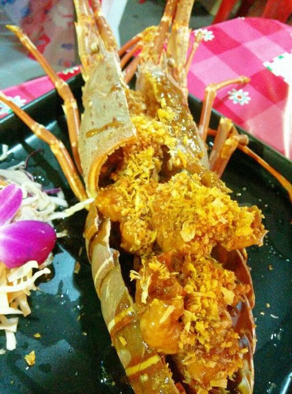 普吉岛海鲜大排档-麦片龙虾