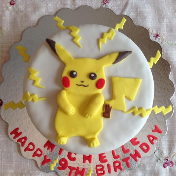 皮卡丘生日蛋糕