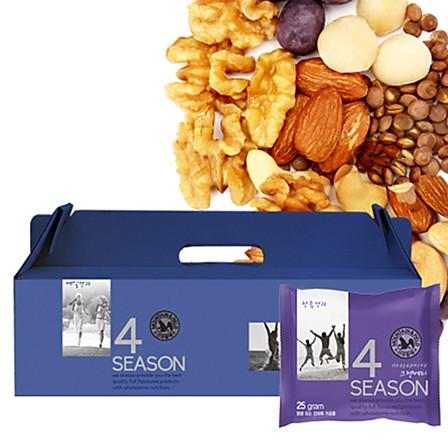 韩国M&F山野每日混合坚果礼盒装 30袋装儿童孕妇无糖无盐零食果脯西梅